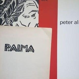 Peter Alma - Lot met 3 uitgaven - 1960/1976