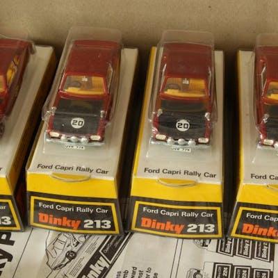 Dinky Toys - 1:43 - Ford Capri Rally Car  - Pack véhicule Dinky toys 213