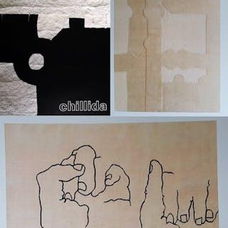 Eduardo Chillida - 3x Abstract Compositions - 2000