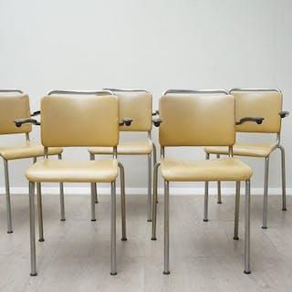 Gispen - Set mit 5 Sitzen