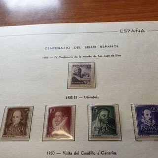 Spanien 1950/1963 - Advanced collection of the second...
