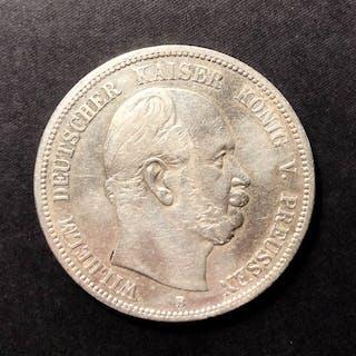 Deutschland - 3 x 5 Mark 1876 B/1907 A/1904 A - Silber