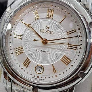"""Gevril - Swiss Luxury Automatic Watch """"NO RESERVE PRICE""""..."""
