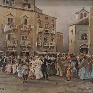 Nicolas De Corsi- Sposalizio a Napoli