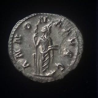 Römisches Reich - Antoninien (AR), Trébonien Galle (251-253) - Annona - Silber