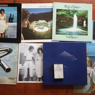 Mike and Sally Oldfield - Promotion box complete and 2 x...