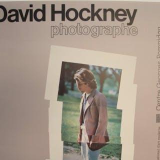 David Hockney - Photographe, Centre Pompidou - 1982