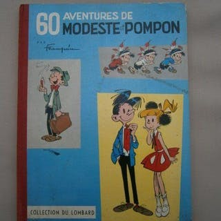 Modeste et Pompon T1 - 60 aventures de Modeste et Pompon...