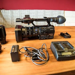 Sony HVR-Z7P with Solid State recorder