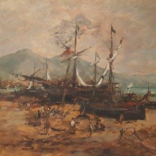 Ezelino Briante (1901-1971) - Marina di Napoli