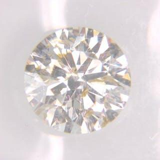 1 pcs Diamond - 1.50 ct - Round - I - SI1