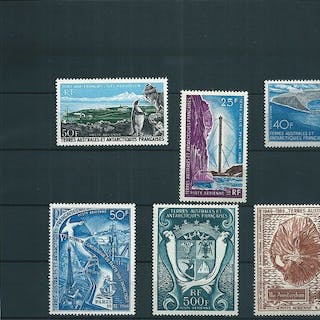 Frankreich 1956/1970 - Lot with stamps from French...
