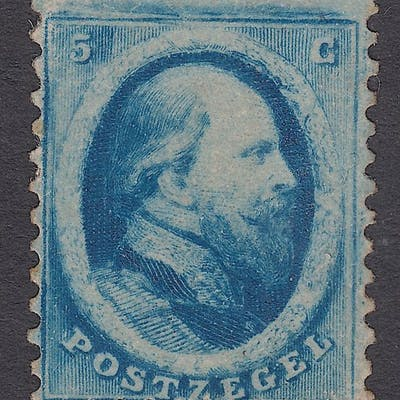 Paesi Bassi 1864 - King Willem III second issue - NVPH 4