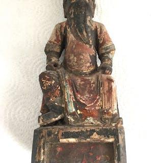 Statue (1) - Wood - CHO-SUN - China - Qing Dynasty (1644-1911)