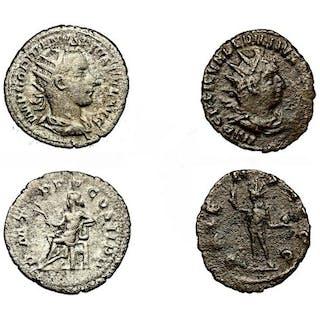 Römisches Reich - Lotto di 2 Antoniniano