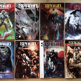 Spawn: A Collection of Dark Tales - 30X Complete Runs and...