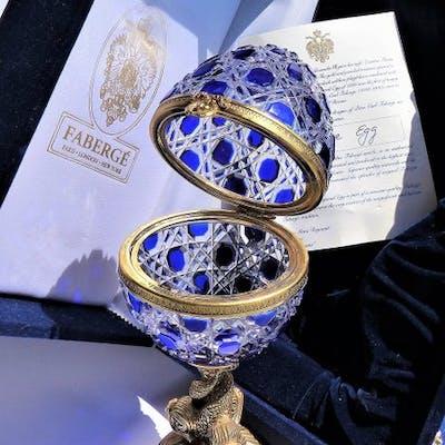 Fabergé Impérial (Signé - Certificat - 26cm/1,5kg)...