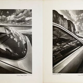 Jeanloup Sieff (1933-2000) - (2x) 'Auto Psy, Renault 25', 1984