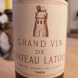 1969 Chateau Latour - Pauillac 1er Grand Cru Classé - 1 Bottle (0.75L)
