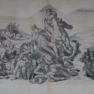 Giorgio Ghisi (1520 - 1582) - Het einde der tijden