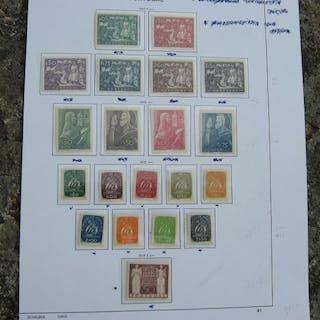 Portugal 1947/1949 - 4 Complete Series - Mundifil 685/704