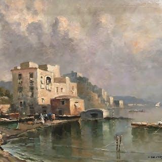 De Corsi Nicolas (1882 - 1956) - Marina