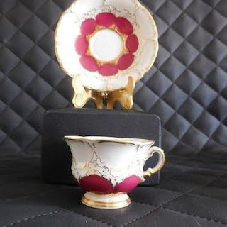 Meissen Prunkgedeck-B-Form-Purpur - Porzellan