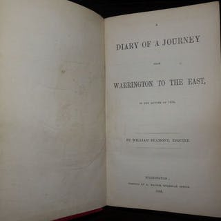 William Beamont - Signed: Diary Of A Journey To The East...