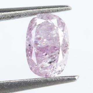 Diamond - 0.19 ct - Fancy Purplish Pink - I3*NO RESERVE*