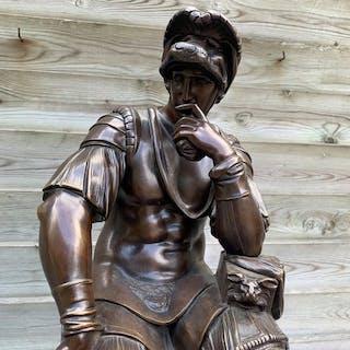 Eugène Cornu (d. 1875) after Michelangelo Buonarroti- Skulptur