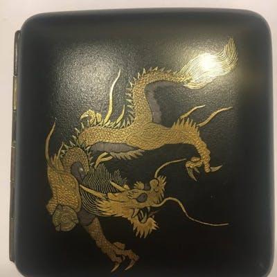 portasigarette (1) - Smalto - Cina - Seconda metà del 20° secolo