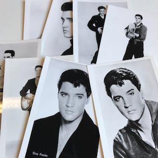 Elvis Presley - Set of 8 original 1960s photo postcards...