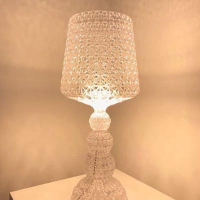 Ferruccio Laviani - Kartell - Lampada da tavolo - mini Kabuki cristallo