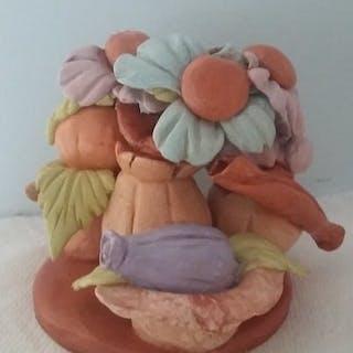 Antonio Cariola- Due sculture eseguite interamente a mano