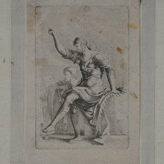 Salvator Rosa (1615-1673) - Romeinse legeraanvoerder