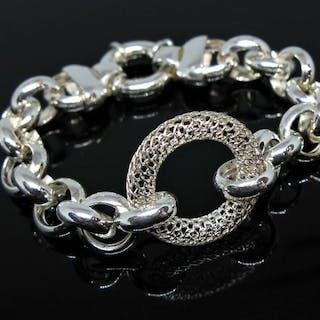 Artisanal - 925 Silber - Armband -Handgemacht