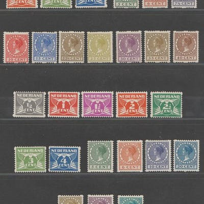 Paesi Bassi 1926/1930 - Syncopation collection - NVPH R19/R31, R57/R70