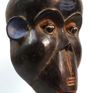 Maschera di gorilla africana - Legno - bulu - Camerun