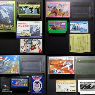 Famicom (Japanese NES) Super Xevious / Buggy Popper /...