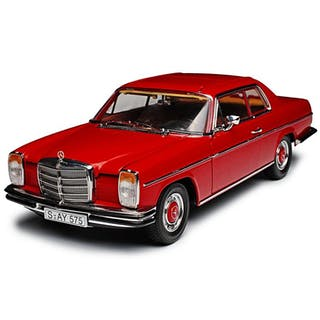 Sunstar - 1:18 - Mercedes-benz Strich 8 coupe - Bordeaux rood