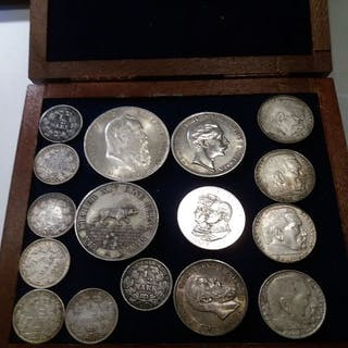 Germany - 16 coins, including Taler - Silver