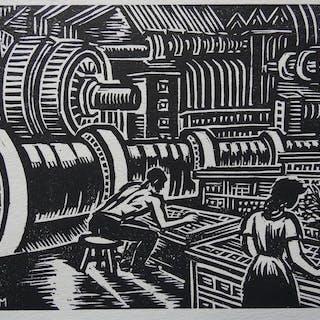 Frans Masereel(1889-1972) - Der Weg des Menschen