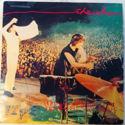 Who - Wholiday In The USA 2LP - 2xLP Album (double album) - 1976/1976