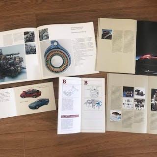 Broschüren/ Kataloge - Porsche - Porsche diverse folders...