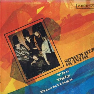The Ugly Ducklings- Somewhere Outside (Original!!) - LP Album - 1966