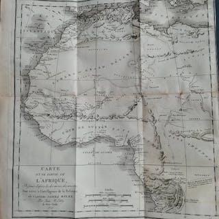 James Riley - Naufrage du brigantin américain le Commerce - 1818