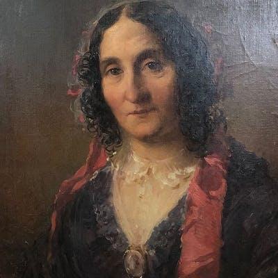 Eduard Ender (1822-1883) - Ritratto di donna