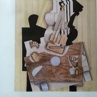 Juan Gris - Salas Pablo Ruiz Picasso - 1985