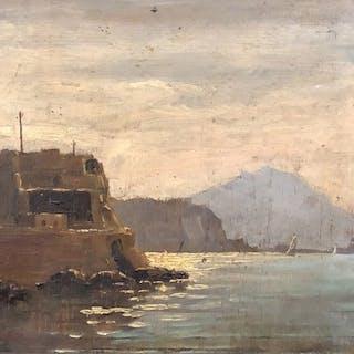 Casciaro Giuseppe (1863 - 1941) - Marina