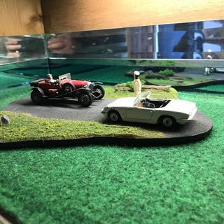 Corgi Toys - 1:43 - Classic BBC TV - Avengers - World of Wooster - Steed